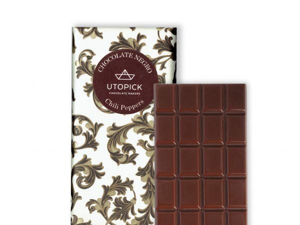 Chocolate picante negro 70 %